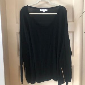 Ava& Viv sweater with side zippers